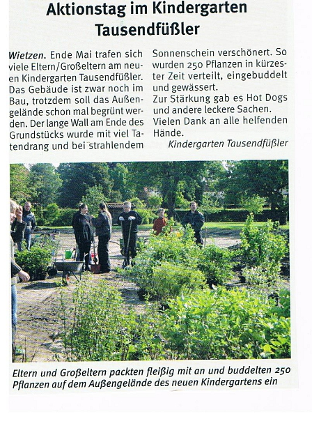 Weserblick, Mai 2013©Kindergarten Tausendfüßler