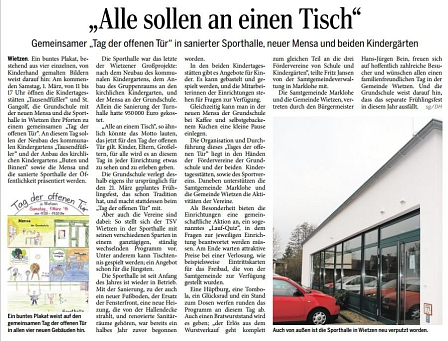 Die Harke, 24.02.2014©Kindergarten Tausendfüßler