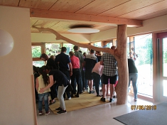 Ausstellung eröffnet©Kindergarten Tausendfüßler