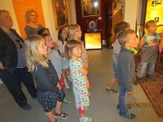 Begrüßung im Museum©Kindergarten Tausendfüßler