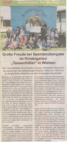 Blickpunkt, 13.06.2015©Kindergarten Tausendfüßler