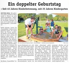 Blickpunkt, 14.09.2016©Kindergarten Tausendfüßler