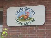 das neue Logo©Kindergarten Tausendfüßler