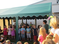 Die Grundschule macht auch mit©Kindergarten Tausendfüßler