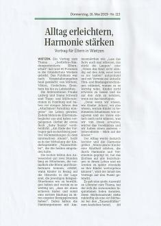 Die Harke, 16.05.2019©Kindergarten Tausendfüßler