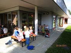 Draußen Frühstücken©Kindergarten Tausendfüßler