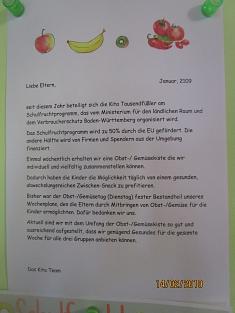 Elternbrief©Kindergarten Tausendfüßler