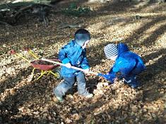 Es gibt viel zu tun©Kindergarten Tausendfüßler