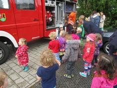 Feuerwehrauto©Kindergarten Tausendfüßler