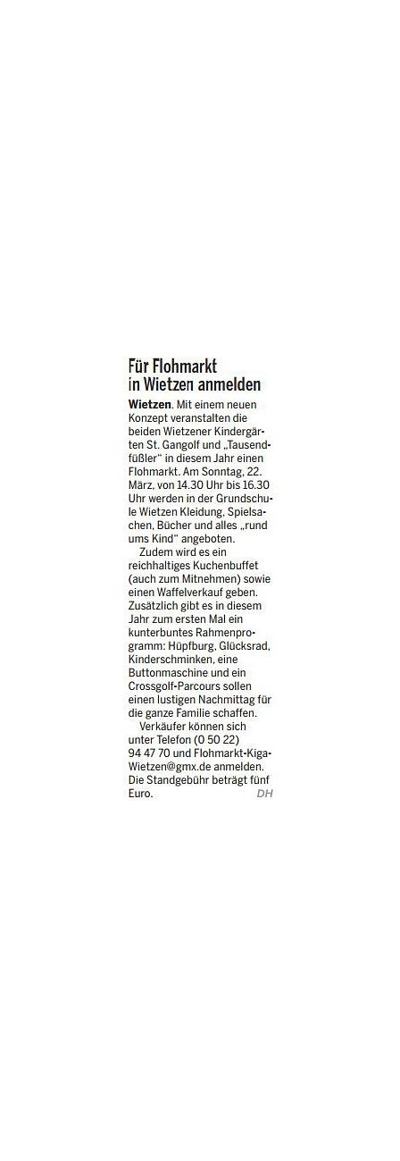 Die Harke, 18.03.2015©Kindergarten Tausendfüßler