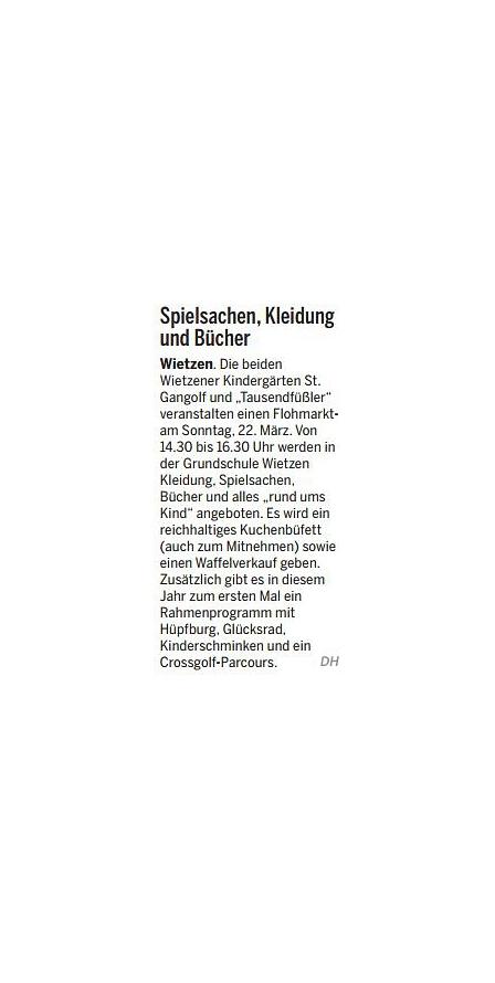 Die Harke, 19.03.2015©Kindergarten Tausendfüßler