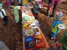 gemeinsames Frühstück©Kindergarten Tausendfüßler