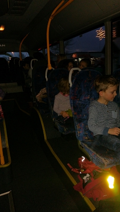 Im Bus©Kindergarten Tausendfüßler
