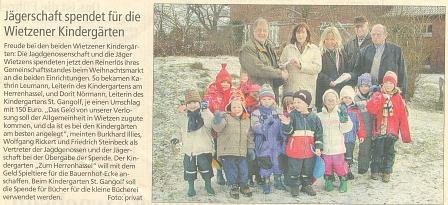 Jäger 2005©Kindergarten Tausendfüßler