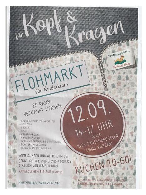 Kopf&Kragen2021©Kindergarten Tausendfüßler