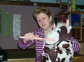 Kuh Berta©Kindergarten Tausendfüßler
