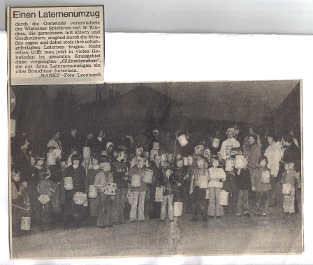 Laternenumzug©Kindergarten Tausendfüßler