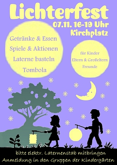 Lichterfest 2015©Kindergarten Tausendfüßler