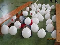 Luftballon-Tunnel©Kindergarten Tausendfüßler