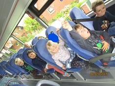 Mit dem Bus geht es los©Kindergarten Tausendfüßler
