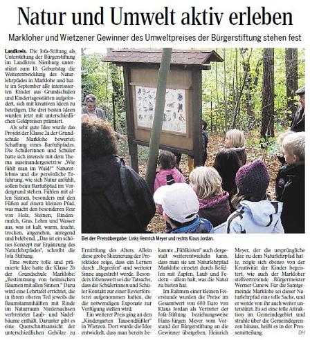 Die Harke, 06.11.2013©Kindergarten Tausendfüßler