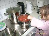 Nudeln mit Tomatensoße©Kindergarten Tausendfüßler