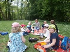 Picknick©Kindergarten Tausendfüßler