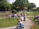 Probefahren©Kindergarten Tausendfüßler