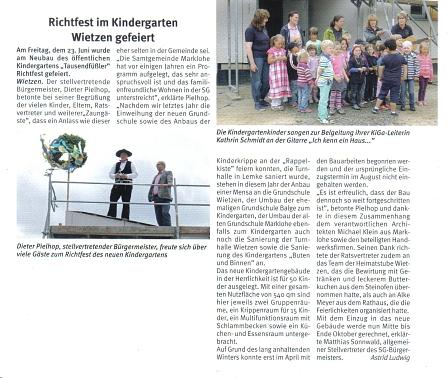 Weserblick, 08.08.2013©Kindergarten Tausendfüßler