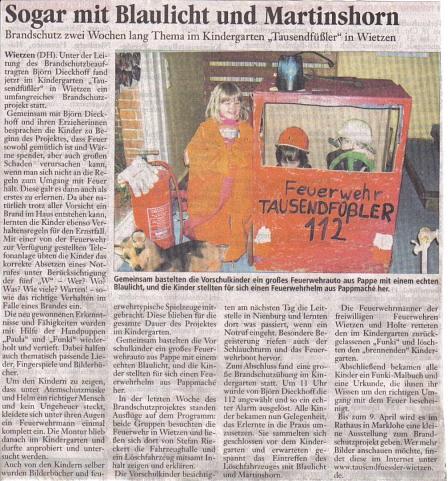 Hams, 05.04.2009©Kindergarten Tausendfüßler