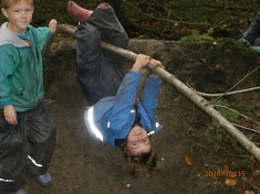 Sport im Wald