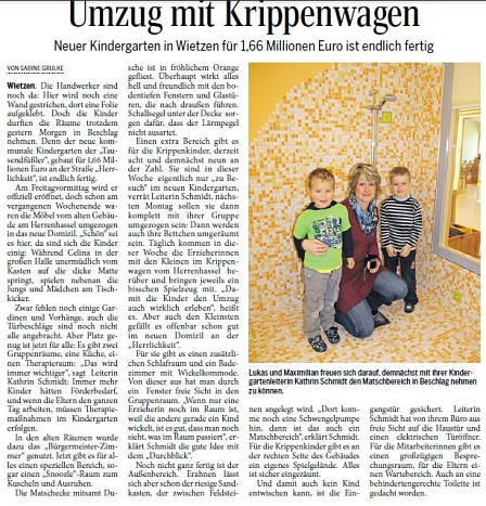 Die Harke, 13.11.2013©Kindergarten Tausendfüßler