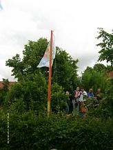 Unser neuer Fahnenmast©Kindergarten Tausendfüßler