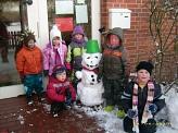 Unser Schneemann©Kindergarten Tausendfüßler