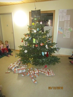 Unser Weihnachtsbaum©Kindergarten Tausendfüßler
