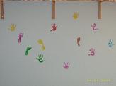 Unsere Hände und Füße©Kindergarten Tausendfüßler