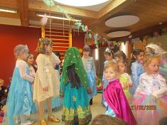 Viele Prinzessinnnen©Kindergarten Tausendfüßler