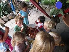 Was Süßes zum Schluß©Kindergarten Tausendfüßler