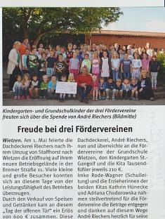 Weserblick, Ausgabe 7, Juli 2017©Kindergarten Tausendfüßler