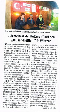 Weserblick, Januar 2018©Kindergarten Tausendfüßler