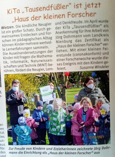 Weserblick_Juni2021©Kindergarten Tausendfüßler