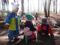 Wir entdecken den Wald©Kindergarten Tausendfüßler