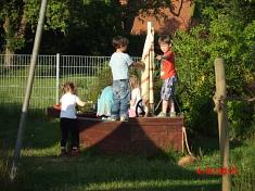 Wir erobern den Kiga©Kindergarten Tausendfüßler