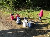 Wir suchen Eicheln©Kindergarten Tausendfüßler